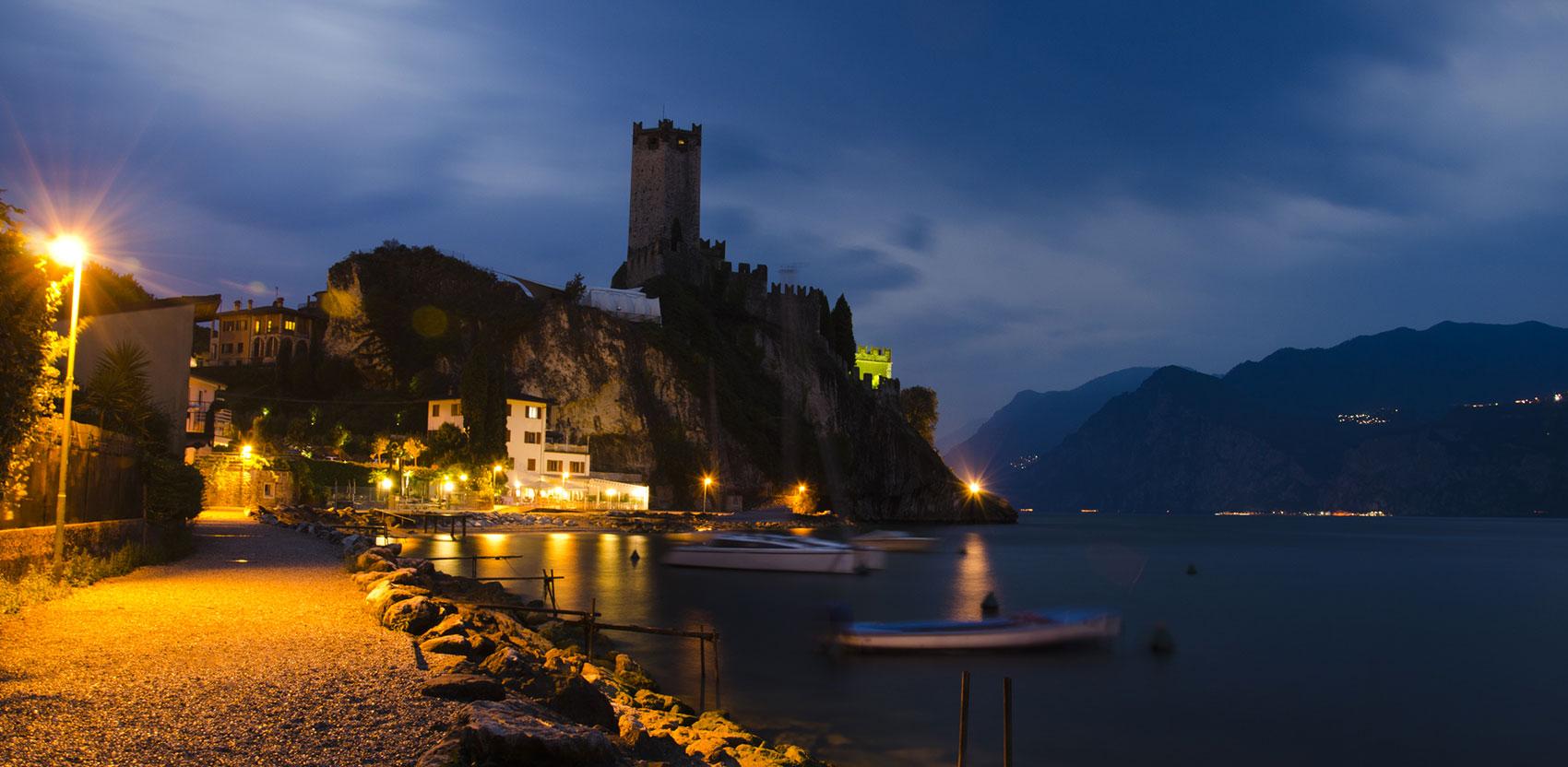 Il Castello di Malcesine sul lago di Garda Verona